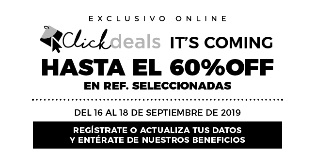 Click Deals Hasta 60% Dcto